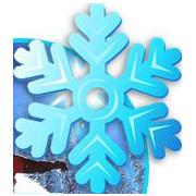 dessin simple flocon de neige