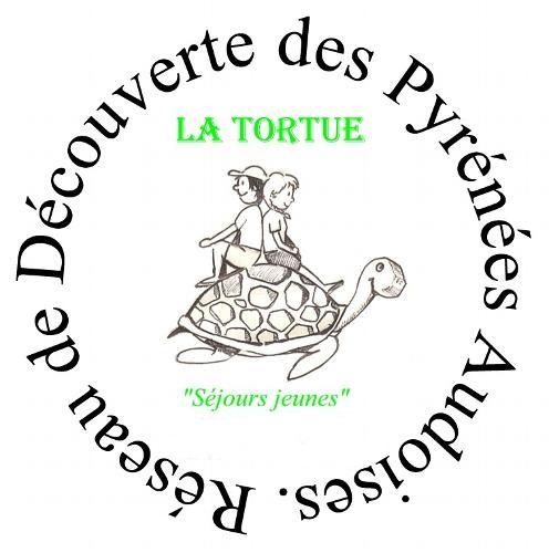 logo de la colonie de vacances la tortue