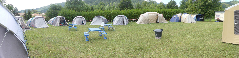 Campement de notre colonie de vacances été